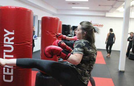 Fitness Kickboxing at Evoke